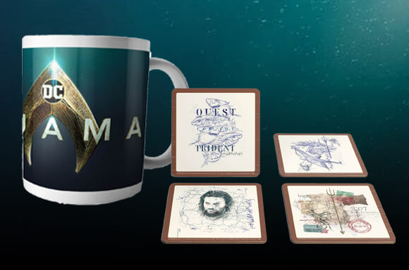 Official Aquaman Homeware!