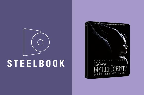 MALEFICENT: SIGNORA DEL MALE STEELBOOKS 3D & 4K