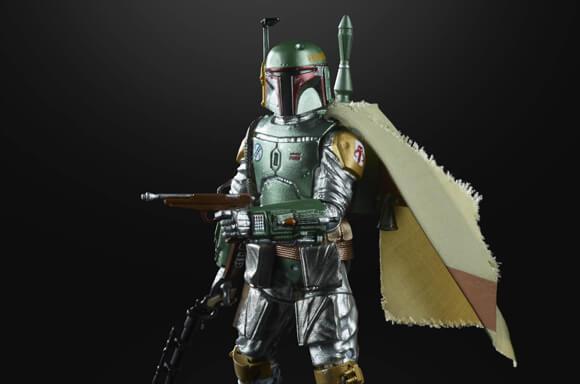 Hasbro Star Wars The Black Series Carbonized Metallic Boba Fett Actiefiguur