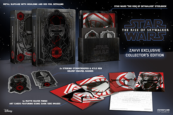 STAR WARS: THE RISE OF SKYWALKER<br>COLLECTOR'S EDITION STEELBOOKS
