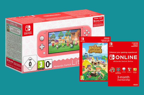 Nintendo Switch Lite Bundel