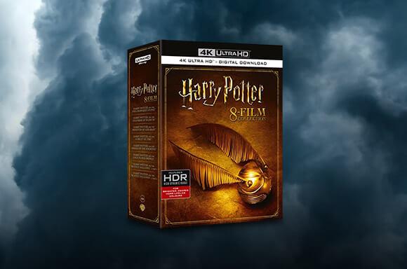HARRY POTTER 8 FILM 4K UHD BOXSET