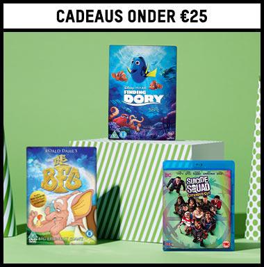 cadeaus voor minder dan €25