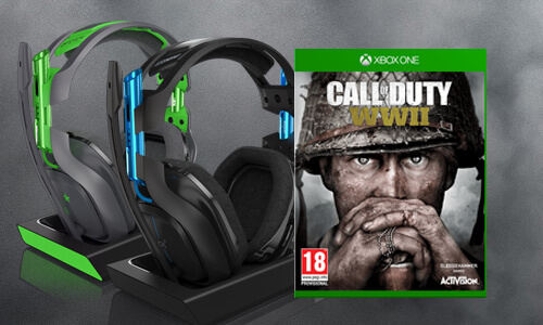 A50 HEADSET & CALL OF DUTY: WWII<BR>VOOR €279,99