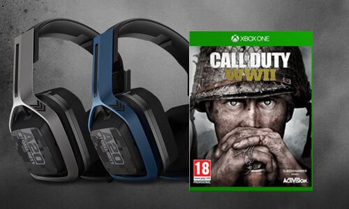 A20 HEADSET & CALL OF DUTY: WWII<BR>VOOR €179,99