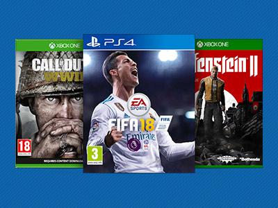 PS4 en Xbox One games