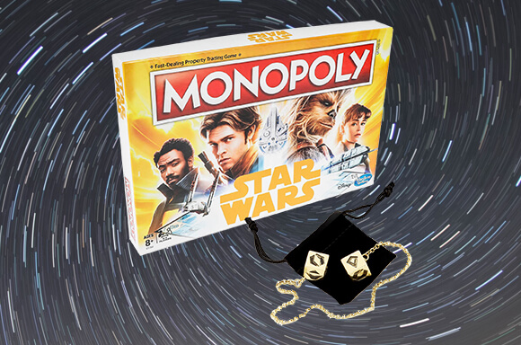 STAR WARS COLLECTABLE DOBBELSTENEN & MONOPOLY