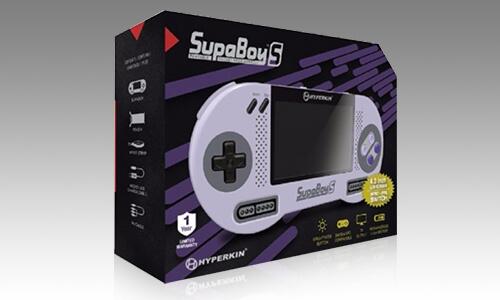 SUPABOY S (PAL + NTSC) SNES / SUPER FAMICOM HANDHELD CONSOLE