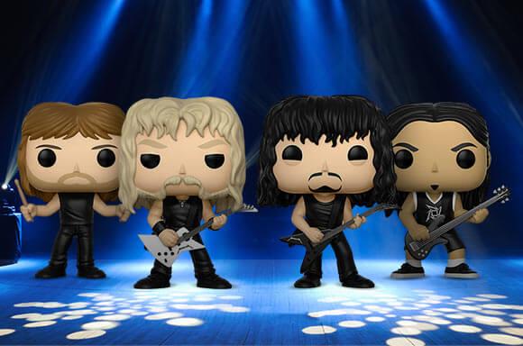 Metallica Funko Pops