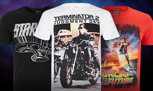 TIME TRAVEL T-SHIRTS: 2 VOOR €20
