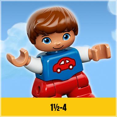 LEGO VOOR KINDEREN VAN 1,5 TOT 4 JAAR