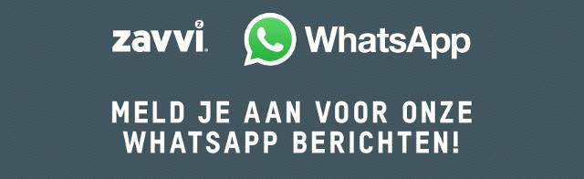 Zavvi op WhatsApp