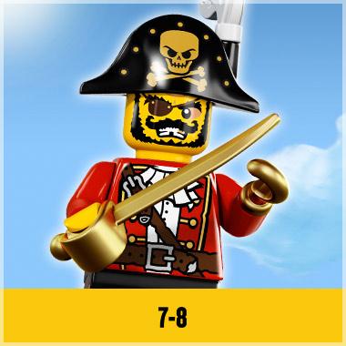 LEGO VOOR KINDEREN VAN 7 TOT 8 JAAR
