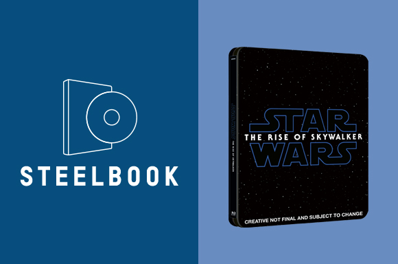STAR WARS: THE RISE OF SKYWALKER <BR> 3D & 4K STEELBOOKS