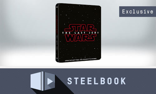 STAR WARS: THE LAST JEDI 3D BLU-RAY STEELBOOK