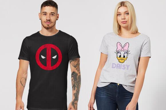 T-shirts: 2 voor €28