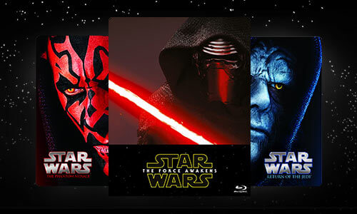 STAR WARS BLU-RAY & DVD