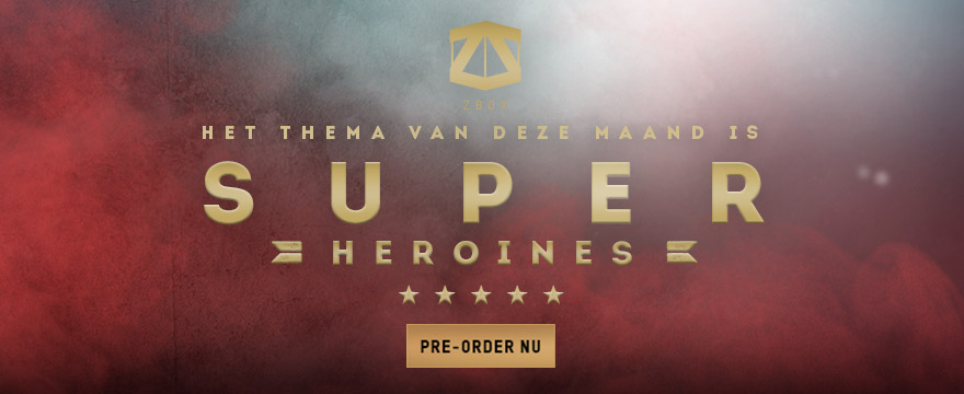 SUPERHEROINES ZBOX