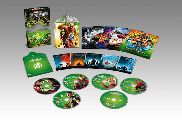 MARVEL PHASE 1-3 COLLECTOR'S EDITION BOX SETS