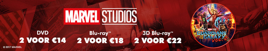 Marvel multi-buy. DVD: 2 voor €14, Blu-ray 2 voor €18 en 3D Blu-ray: 2 voor €22