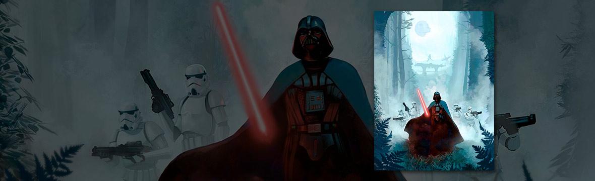 Star Wars lithografie
