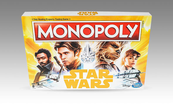 Star Wars Han Solo Monopoly