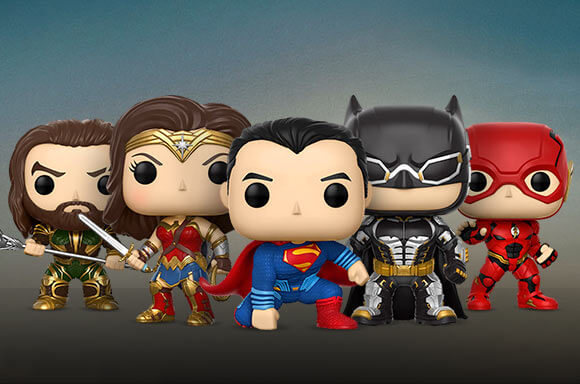 Justice League Funko Pops