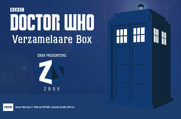 DOCTOR WHO VERZAMELAARSBOX