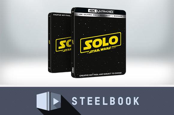 SOLO STEELBOOK & T-SHIRT VANAF €37,99
