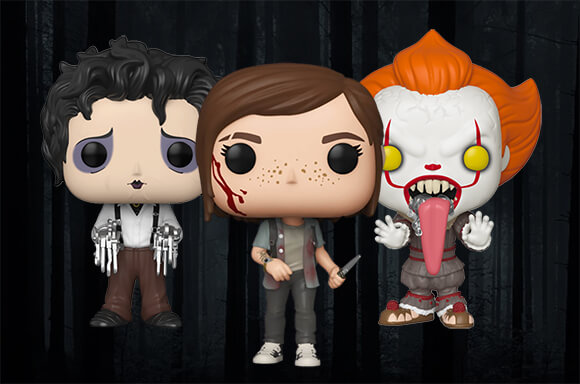 3 voor €30 Horror Pop! Vinyl