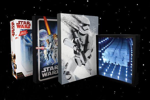Star Wars voor aan de muur!