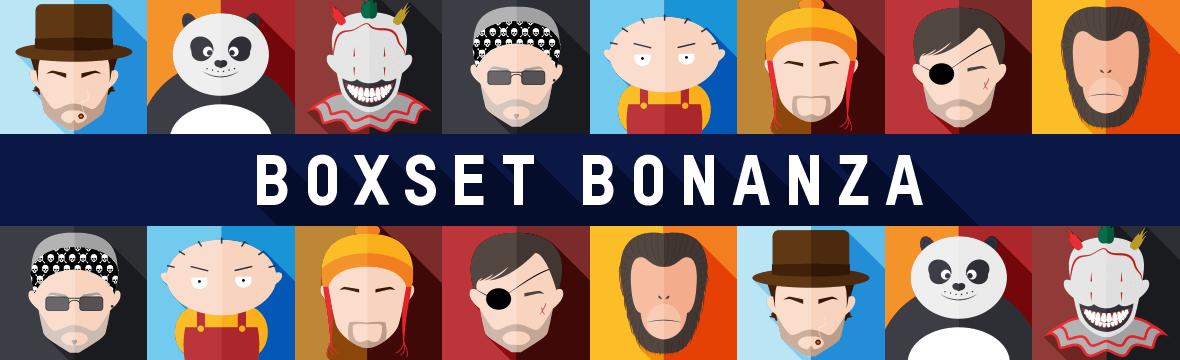 Boxset bonanza - prijsverlagingen EN gratis verzending op geselecteerde boxsets!