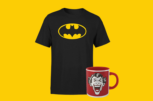 DC - T-shirt & Mug Bundle ONLY $11.99!