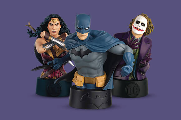 ULTIMATE DC COMICS 3-PACK BUSTS