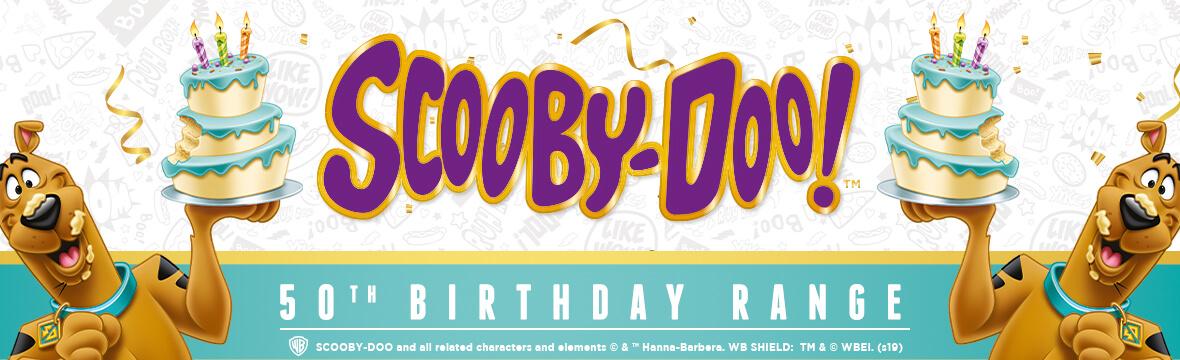 SCOOBY DO 50TH BIRTHDAY