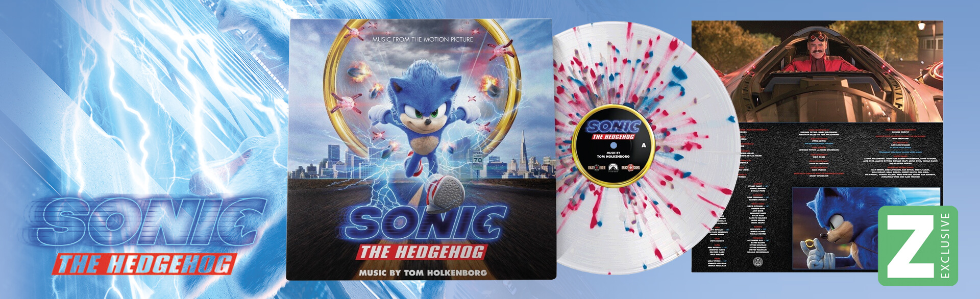SONIC THE HEDGEHOG VINYL