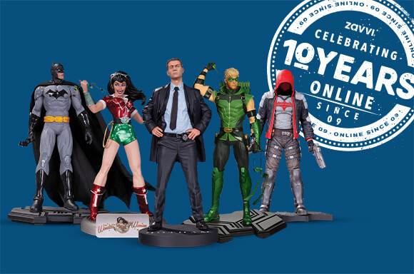5 DC COLLECTIBLES STATUES FOR JUST $89.99
