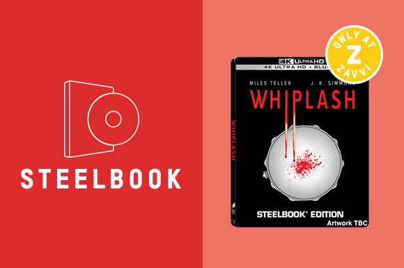 WHIPLASH 4K ULTRA HD STEELBOOK