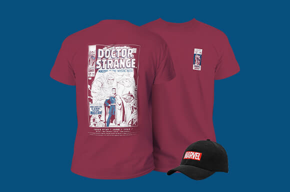 Marvel Tee And Cap only $19.99