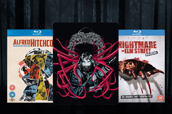 20% OFF! <br> HORROR BLU-RAY