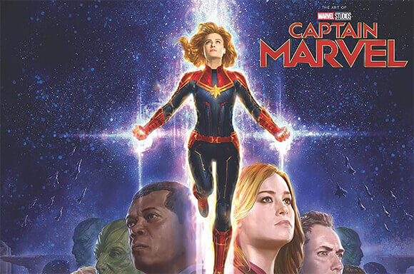 CAPTAIN MARVEL: ART OF THE MOVIE BOOK