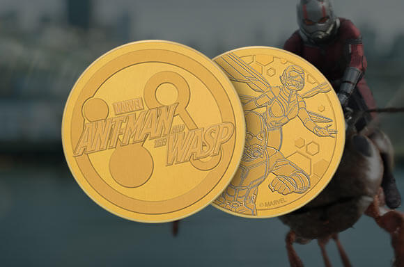 ANT-MAN AND THE WASP COLLECTOR'S  GOLD COIN