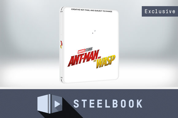 ANT-MAN AND THE WASP 4K UHD LIMITED EDITION STEELBOOK (INCLUDES 2D VERSION)