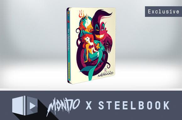 THE LITTLE MERMAID<br />LIMITED EDITION MONDO X STEELBOOK