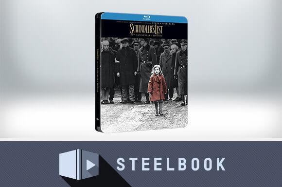 SCHINDLER'S LIST 4K ULTRA HD STEELBOOK