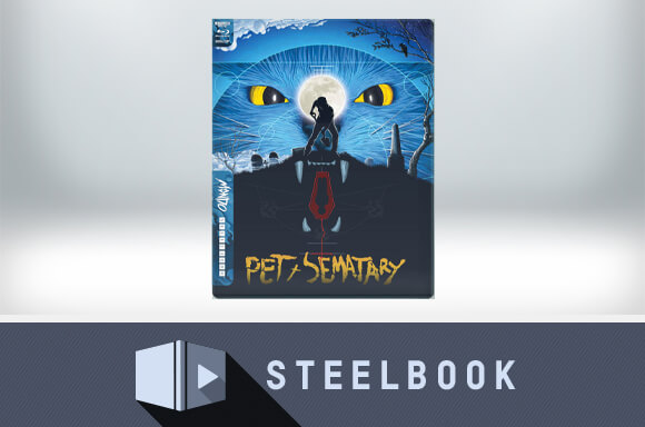 PET SEMATARY MONDO 4K STEELBOOK