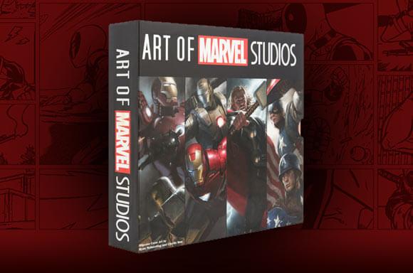 ART OF MARVEL STUDIOS - 4 BOOK SET IN DELUXE SLIPCASE
