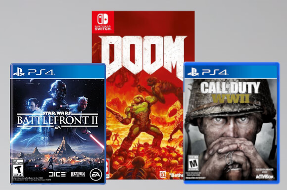 GAMES CLEARANCE!