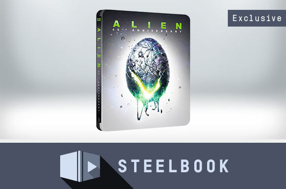 ALIEN 4K UHD 40TH ANNIVERSARY STEELBOOK