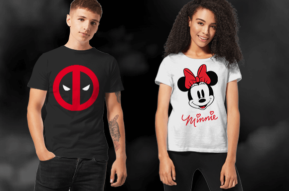 LICENSED T-SHIRTS FROM $7.99!